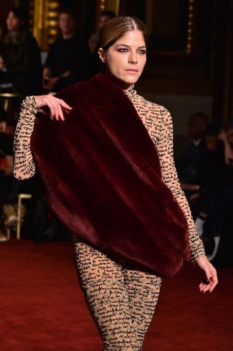 Stars New York Fashion Week Spring 2018 See Photos u2013 Hollywood Life