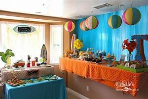 Kara's Party Ideas Hello Summer Surf Beach Boy Girl Party ...