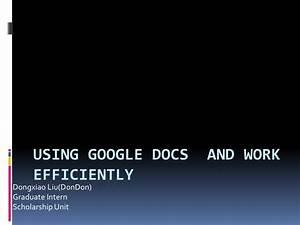 google docs presentation With google docs share powerpoint