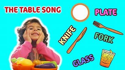 Spoon Songs Song Plate Sing Fork Along