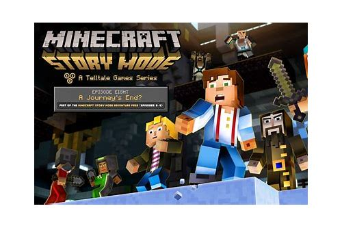 minecraft story mode 1 4 descargar free