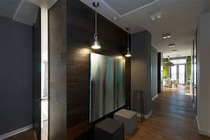 Modern, Apartment, Design, Green, Walls, By, Svoya