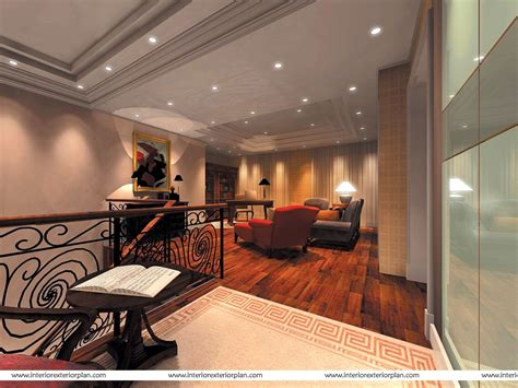 A Rich Living Room Design