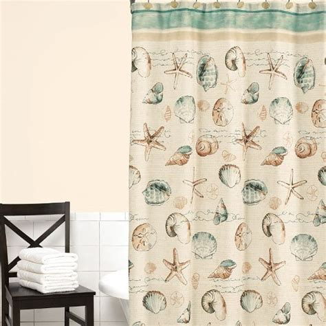shower curtains decor shower curtains to create an instant spa feeling Seashell