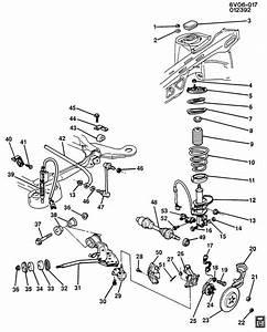 Cadillac Suspention Diagram