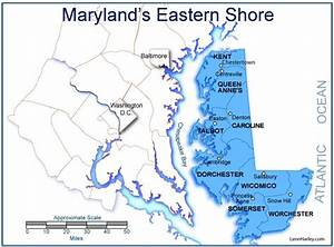 md eastern shore maps