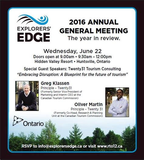 explorers edge  agm happening june  muskokacom