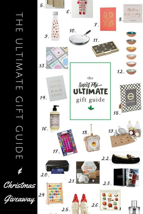 ultimate christmas gift guide and giveaway sweetphi