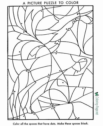 Puzzle Coloring Preschool Puzzles Worksheets Pages Printable
