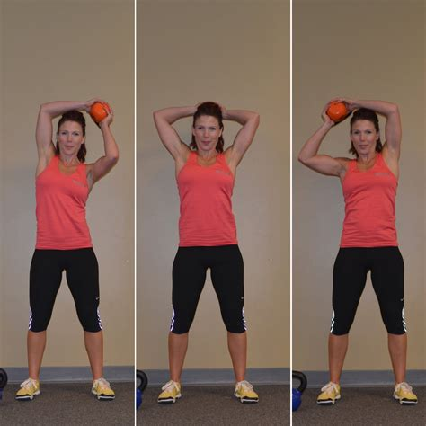 workout basic kettlebell halo move exercises weight moves workouts loss popsugar fitness calories bell ball lose shoulder arm mobility burn