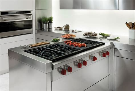 wolf 48 range top wolf srt486clp 48 inch pro style gas rangetop with 6 dual 1561