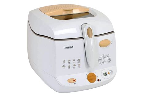 minuteur de cuisine friteuse philips hd 6159 55 bl orange 2519062 darty