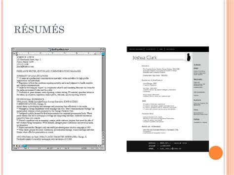 the scannable resume