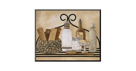 Most importantly, choose wall decor pieces that uplift you and make you feel centered. Art.com ''Bath Shelf I'' Wall Art