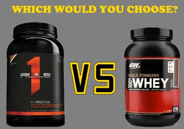 Best Whey Protein Powder: R1 Protein by Rule 1 vs Optimum