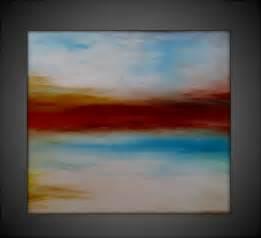Abstract Acrylic Canvas Painting Ideas