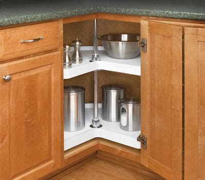 corner rotating kitchen cabinet lazy susans buying guide kitchensource 5862