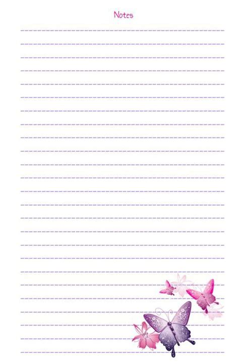 notebook page anazhthsh google  printable stationery  paper printables notebook