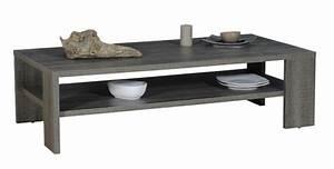 Table Basse Chene Gris : table basse lathi 56 chene gris fonce ~ Teatrodelosmanantiales.com Idées de Décoration