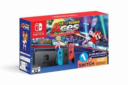 Switch Mario Bundle Tennis Aces Nintendo Walmart