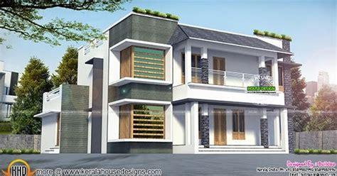 2270 sq-ft modern home architecture - Kerala home design