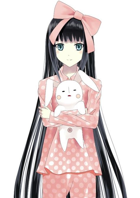 cute anime girl  sleeping clothes   heart