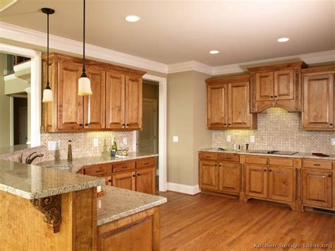 kitchen colors with light wood cabinets pictures of kitchens traditional medium wood cabinets