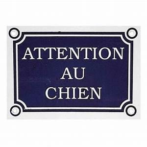 Panneau Attention Au Chien : panneau attention au chien achat et vente ~ Farleysfitness.com Idées de Décoration