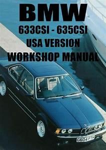 Bmw E24 633csi  U0026 635csi  Us Version 1983
