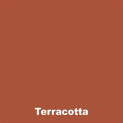 what color is terracotta terracotta dye pigment for concrete render mortar