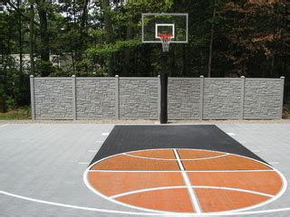 outdoor  court basketball traditional landscape