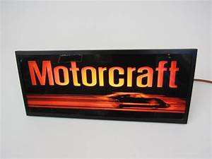Choice Vintage Ford Motorcraft Parts Service Department