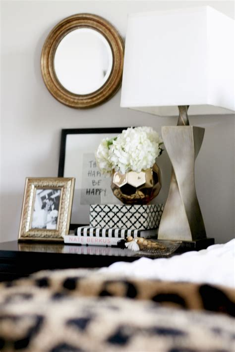 Decorating Ideas Your Bedside Table by How To Style A Nightstand Interior Styling Tips