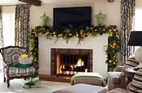 mantel decorating ideas Christmas Mantel Decor Inspiration