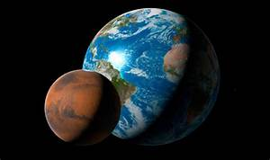 Mars closest to Earth: Mars diameter - How much bigger is ...