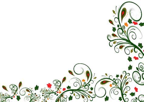 plant border designs flower border design cliparts co