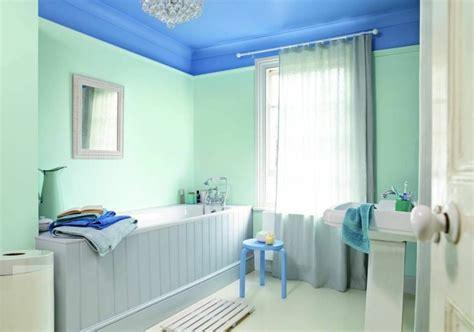 plafond salle de bain peinture  style en  idees