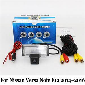 Car Rear View Camera For Nissan Note    Versa Note  E12