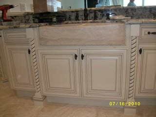 kitchen sinks cabinets white with glaze traditional kitchen cabinetry 2987