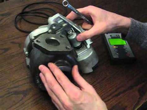 turbocharger electronic actuator setting mitsubishi