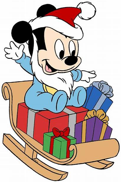 Mickey Mouse Christmas Clipart Minnie Disney Donald