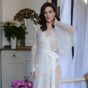 undergarments for wedding dresses lace trimmed tulle bridal robe f10 nightdress bridal wedding