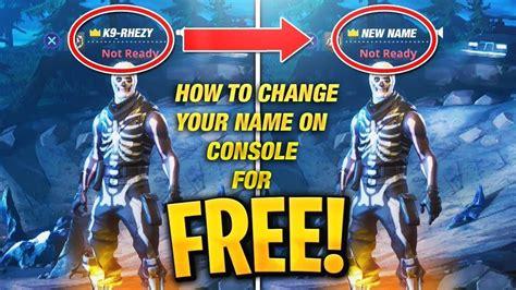 change  fortnite   console   ps