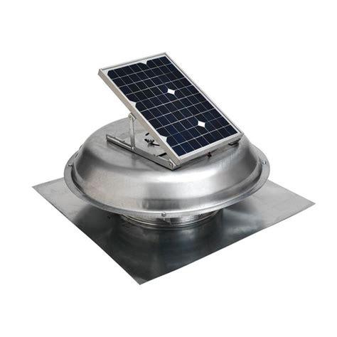 Master Flow 500 Cfm Solar Powered Roof Mount Exhaust Fan