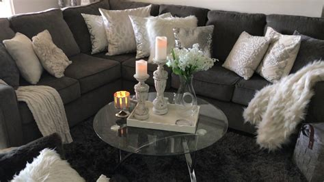 glam living room  small luxury apartment home youtube