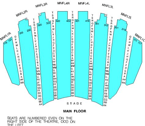 chicago theater seat map swimnova cibc theatre chicago tickets schedule seating chart