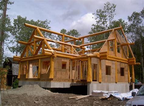 choosing   roof   log home artisan custom log homes