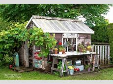 14 Whimsical Garden Shed Designs Storage Shed Plans