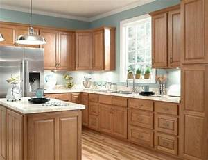 how to make honey oak cabinets look modern 2021