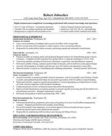 sle resume for senior staff accountant positions in nj sle auditor resume